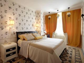 КВАРТИРА ВОЛШЕБНИКА Спальня в эклектичном стиле от Bituleva Project Эклектичный