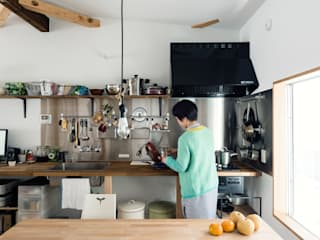 Eclectic style kitchen by coil松村一輝建設計事務所 Eclectic
