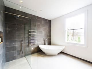 Modern Bathroom Design and Installation: Clapham, London Modern bathroom by Affleck Property Services Modern