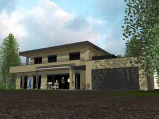 LesSaules - Présentation: Maisons de style de style Moderne par Agence d'Architecture Voyelles