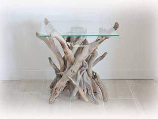 table de chevet en bois flotté par Natydeco Éclectique