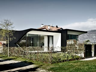 Mirror Houses Casas de estilo minimalista de Peter Pichler Architecture Minimalista