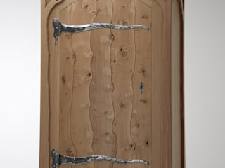 Oak Portal Wardrobe de Fine Furniture Ltd Moderno