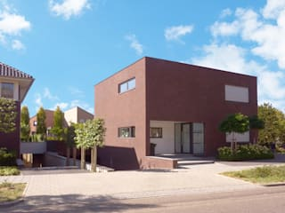 Modern Houses by SeC architecten Modern