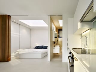 Bedroom by Peter Pichler Architecture, Minimalist