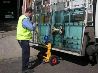 Podnośniki i transportery próżniowe do szkła i okien od Quattrolifts