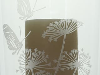 Cow Parsley Storm Lantern Large:   by Sara Newman Design