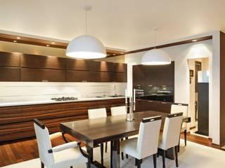 Дизайн двухуровневой квартиры в г. Санкт-Петербурге: Кухни в . Автор – Студия Павла Исаева