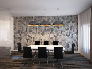 ДОМ П.КИЛЯКОВКА Столовая комната в средиземноморском стиле от OBJECT Средиземноморский