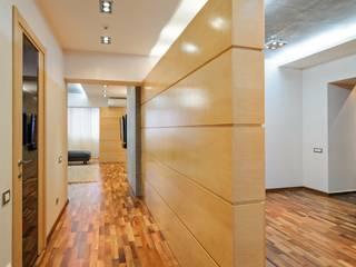 Редизайн четырехкомнатной квартиры в г. Саратов: Коридор и прихожая в . Автор – Студия Павла Исаева