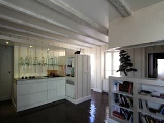 cuisine / salon / entrée: Cuisine de style  par Atelier S