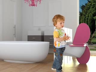 wash basin for children | concept di FLAPstudio | ArchitecturalDesignLAB Moderno