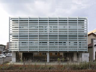白根博紀建築設計事務所 Modern office buildings