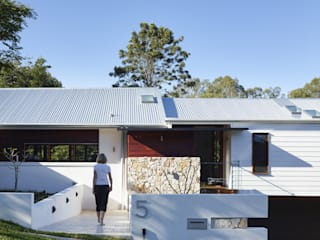 ​The Creek House Modern houses by Shaun Lockyer Architects Modern