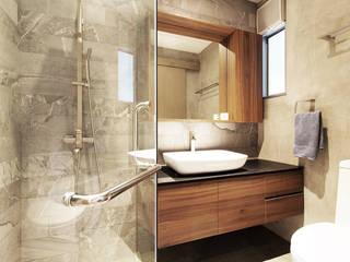Baños de estilo minimalista de Eightytwo Pte Ltd Minimalista