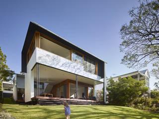 Ladrillo Mediterranean style houses by Shaun Lockyer Architects Mediterranean