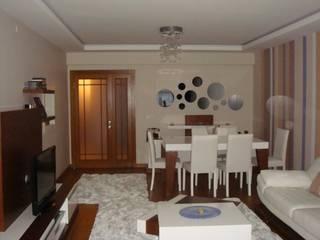 Livings de estilo moderno de Mimark Tasarım Proje Uygulama Ltd. Şti. Moderno