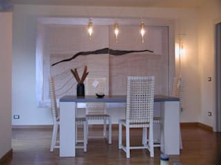 Eclectic style dining room by Serenella Pari design Eclectic