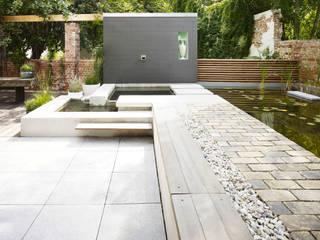 Loft mit Garten:  Garten von Eilmann Architekturbüro