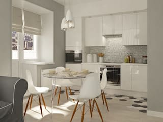 scandinavian Kitchen by CO:interior
