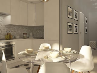CO:interior Scandinavian style kitchen