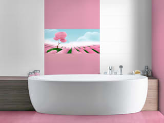 Scenery Tiles Target Tiles BathroomDecoration