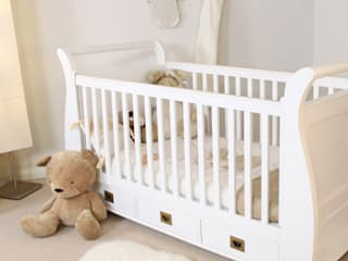 Nutkin Cot-Bed with Three Drawers:   by Harley & Lola