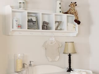 Nutkin Wall Mounted Storage Unit with Hanging Pegs:   by Harley & Lola