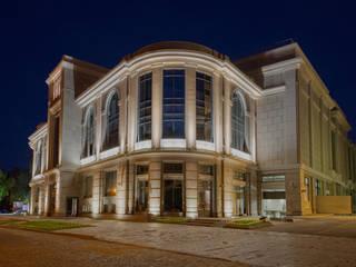 Velikan Park Center: Complessi per uffici in stile  di Disano illuminazione spa