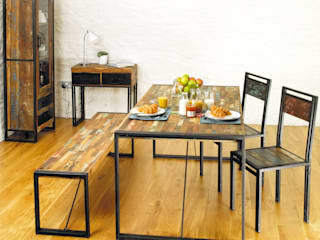 Urban Chic Dining Table:   by Harley & Lola