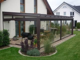ogród zimowy, oranżeria Klasyczny balkon, taras i weranda od Glass Art Klasyczny