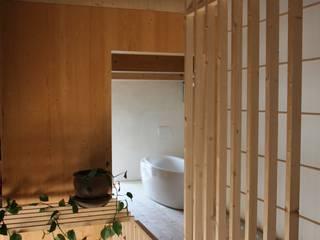 Scheunenumbau Skandinavische Badezimmer von cvarch Skandinavisch