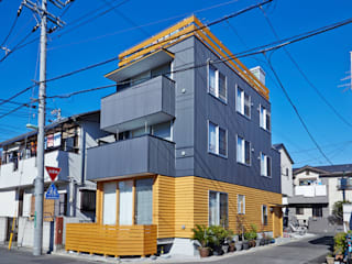 Casas de estilo moderno de 一級建築士事務所co-designstudio Moderno