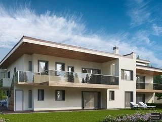 Villa residenziale: Case in stile in stile Moderno di 3DG