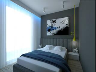 Minimalist bedroom by The Vibe Minimalist