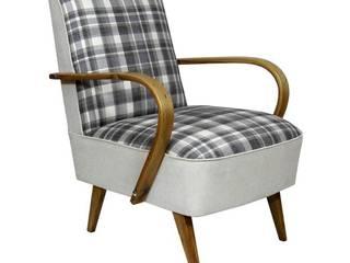 Fotel Klubowy: styl , w kategorii  zaprojektowany przez ToTu Pracownia