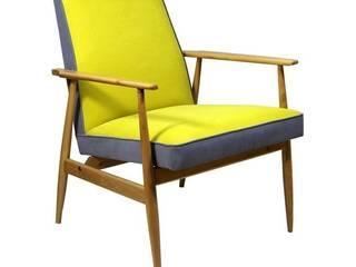 Fotel Miodek: styl , w kategorii  zaprojektowany przez ToTu Pracownia