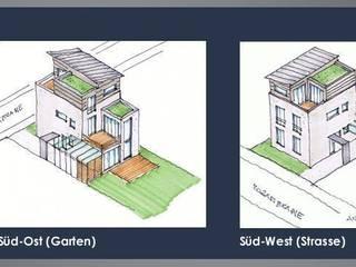 1-Familien-Wohnhaus mit Büro:   von Freier Architekt Hunsicker