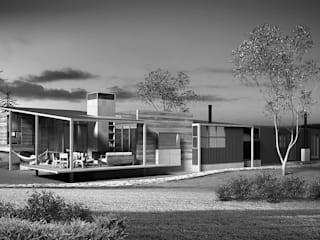 New Zealand | River Stone House - Wannaka Lake por ARQdonini Arquitetos Associados