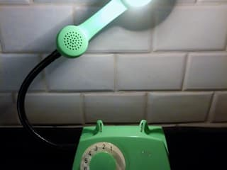 teleLAMPAfon - AsteR 81': styl , w kategorii  zaprojektowany przez RefreszDizajn