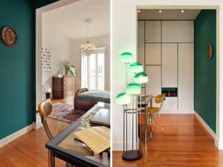 Apartamento A3_Reabilitação Arquitectura + Design Interiores: Closets  por Tiago Patricio Rodrigues, Arquitectura e Interiores