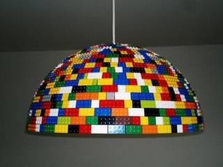 LEGOlamp od RefreszDizajn Nowoczesny