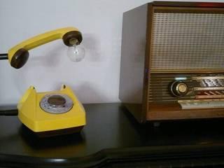 teleLAMPAfon - CzeSlav 84' od RefreszDizajn Minimalistyczny