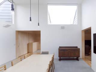 八木山のハウス: 齋藤和哉建築設計事務所が手掛けたダイニングです。