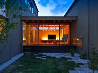 Modern garden by 有限会社ミサオケンチクラボ Modern