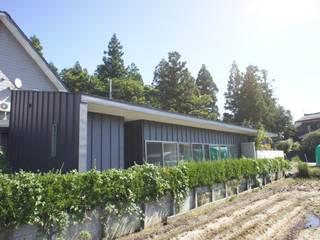 田園の中の家 オリジナルな 家 の たわら空間設計㈲ オリジナル