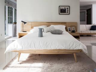 6534 라플란드 내추럴 모던 원목 침대 스칸디나비아 침실 by 시더스디자인그룹 북유럽