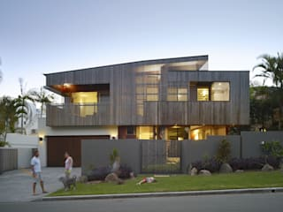 The Sunshine Beach House Minimalist houses by Shaun Lockyer Architects Minimalist