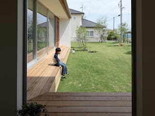 松原建築計画 / Matsubara Architect Design Office:  tarz Koridor ve Hol, Modern