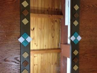 Espejos decorados con venecitas:  de estilo  por ArteSana,Ecléctico